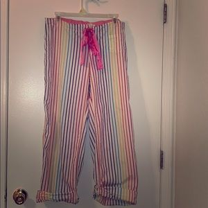 Pink! Victoria's Secret pajama bottoms